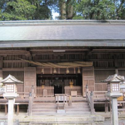 丹生上川神社下社